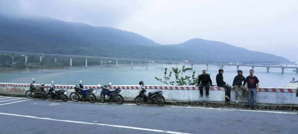 danang to hue motobike tour