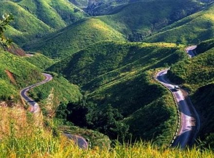 The Hai Van Pass From Da Nang To Hue