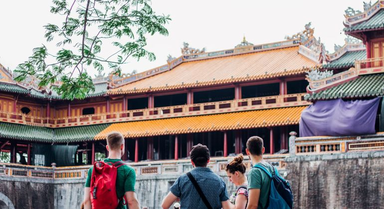 Hue Imperial Citadel - Danang To Hue Day Trip By Motorbike Tours